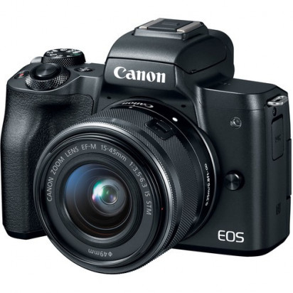 Фотоаппарат Canon EOS M50 kit EF-M 15-45mm f/3.5-6.3 IS STM Гарантия 2 года!!!
