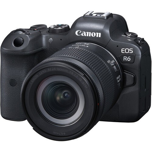 Фотоаппарат Canon EOS R6 kit RF 24-105mm f/4-7.1 IS STM  2 года