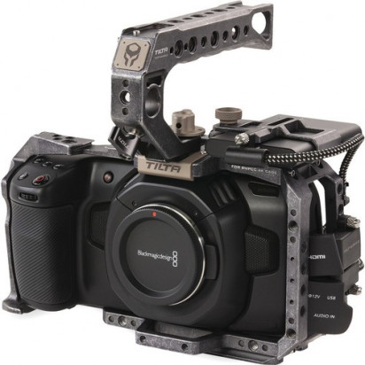 Клетка Tilta TA-T01-B Camera Cage для Blackmagic BMPCC 4K/6K (Basic Kit, Tactical Gray)