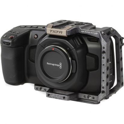 Клетка Tilta TA-T01-HCC Half Camera Cage for BMPCC 4K/6K (Tactical Gray)