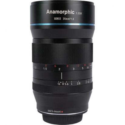 Объектив Sirui 35mm f/1.8 Anamorphic 1.33x  для (Sony E, Fujifilm X и Micro 4/3)