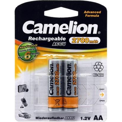 Аккумуляторы Camelion AA Ni-MH 2700mAh 1.2V 2шт.
