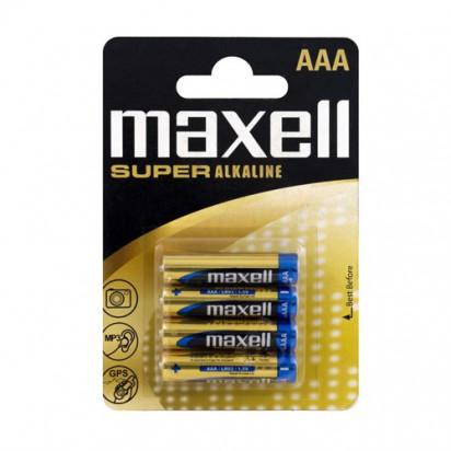 Батарейка Maxell Super Alkaline AAA (LR03) blister 4 шт