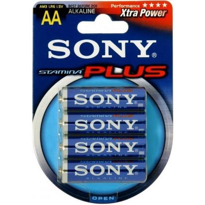 Батарейка Sony Plus AA 1.5V 4шт.