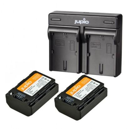 Jupio Kit: 2x NP-FZ100 2040 mAh + USB Dual Charger