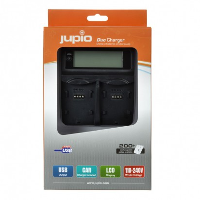 Двойное зарядное устройство Jupio для Canon LP-E5