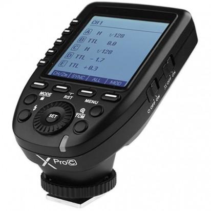 Радиосинхронизатор Godox Xpro-C TTL для Canon
