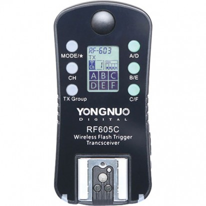 Радиосинхронизатор Yongnuo RF-605C для Canon