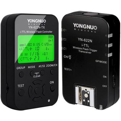 Радиосинхронизатор Yongnuo YN-622N для Nikon kit