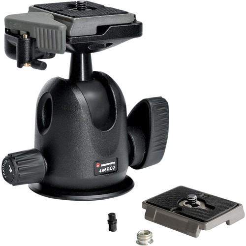 Голова для штатива Manfrotto 496 Compact Ball Head с RC2 Kit
