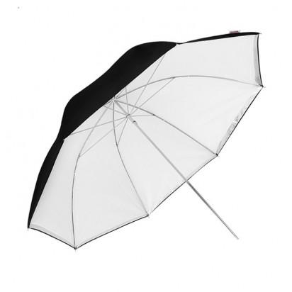 Фотозонт Godox UB-004 101cm белый/черный