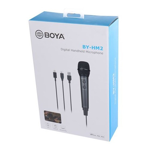 Репортёрский микрофон BOYA BY-HM2