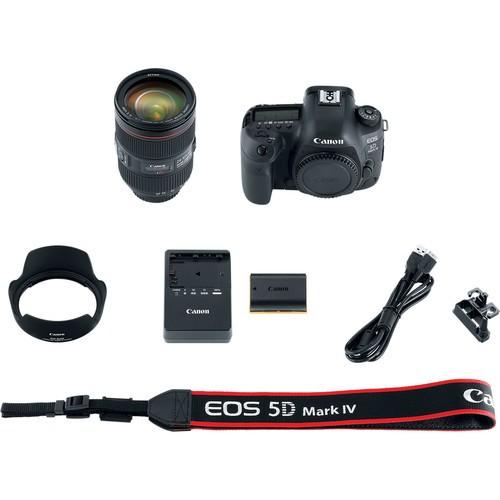 Фотоаппарат Canon EOS 5D Mark IV kit 24-105mm f/4.0L IS USM II