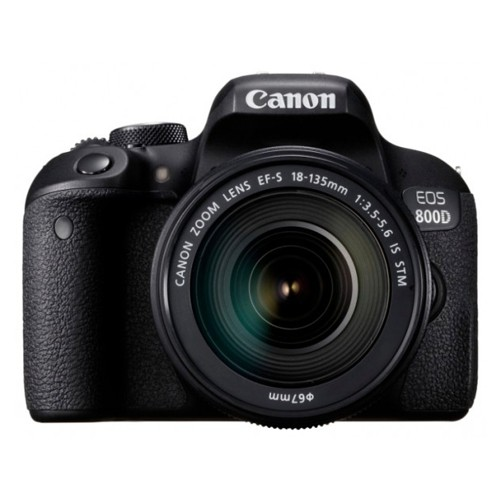 Фотоаппарат Canon EOS 800D kit 18-135mm f/3.5-5.6 IS STM гарантия 1 год