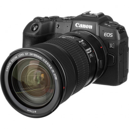 Фотоаппарат Canon EOS RP kit EF 24-105mm f/3.5-5.6 STM + Mount Adapter EF-EOS R гарантия 2 года!!!