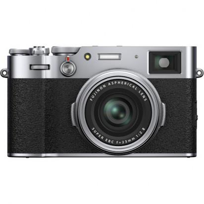 Фотоаппарат FUJIFILM X100V (серебристый)