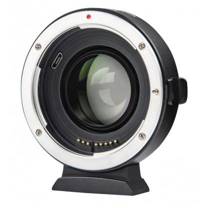 Переходник Viltrox EF-FX2 Auto Focus 0.71x с Canon на Fujifilm