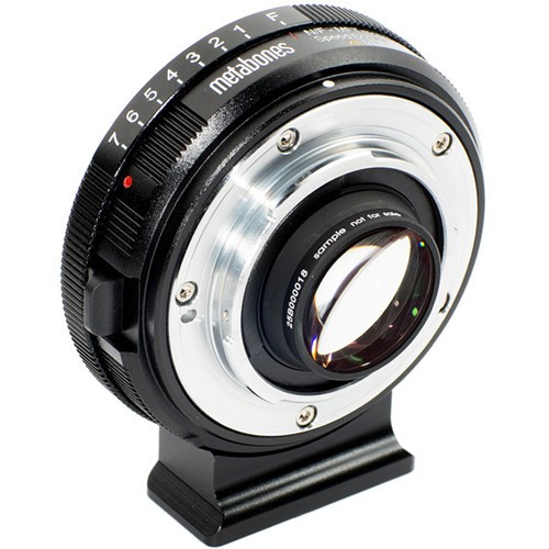 Переходник Metabones Speed Booster XL 0.64x Adapter для Nikon G Lens на Select MFT-Mount