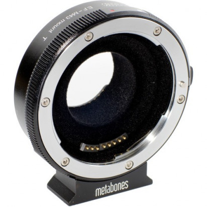 Переходник Metabones T Smart Adapter для Canon EF и Canon EF-S Mount Lens на Select MFT-Mount