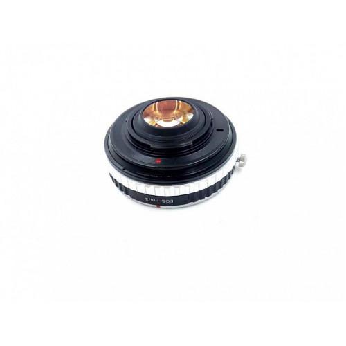 Переходник Speed Booster adapter для Canon mount Lens на Micro 4/3  (с ручной регулировкой диафрагммы)