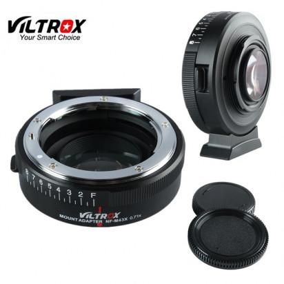 Переходник Viltrox NF-M43X Speed Booster 0.71x (Nikon на M4/3 Mount с ручной регулировкой диафрагммы)