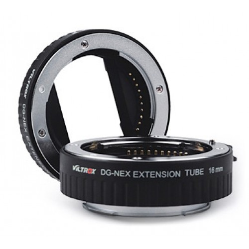 Макрокольца VILTROX DG-NEX Extension Tube для Sony NEX E-mount