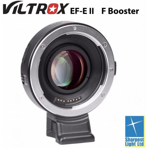 Переходник с поддержкой автофокуса Viltrox EF-E II NEX Speed Booster 0.71x (Canon EF lens на Sony E Mount)