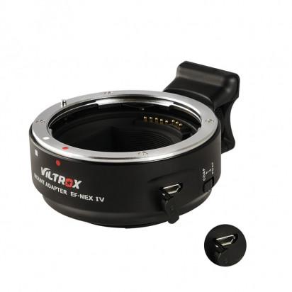 Переходник с поддержкой автофокуса Viltrox IV (Canon EF lens на Sony E Mount)