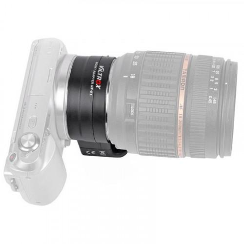 Переходник с поддержкой автофокуса Viltrox Nikon NF-E1 (Nikon lens на Sony E Mount)