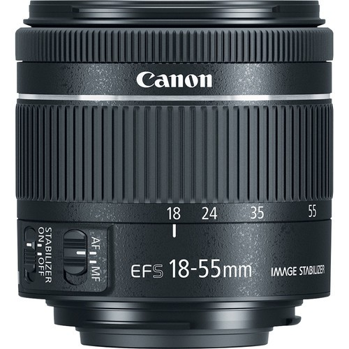 Объектив Canon EF-S 18-55mm f/4-5.6 IS STM