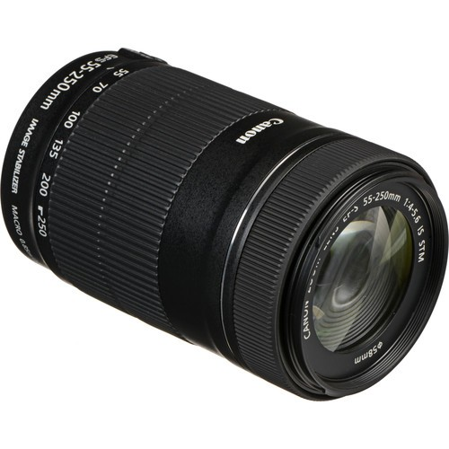 Объектив Canon EF-S 55-250mm f/4.0-5.6 IS STM