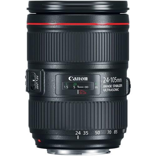 Объектив Canon EF 24-105mm f/4.0L IS USM II