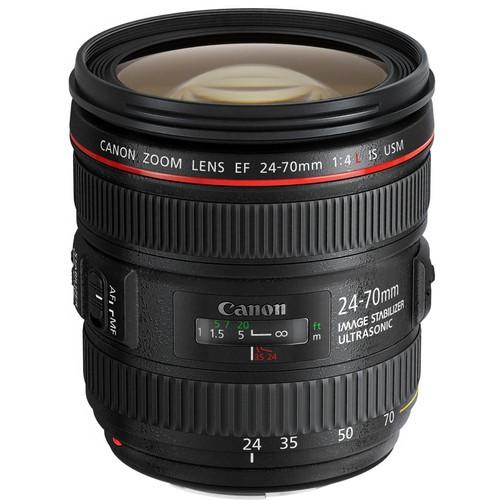 Объектив Canon EF 24-70mm f/4L IS USM в оригинальной коробке