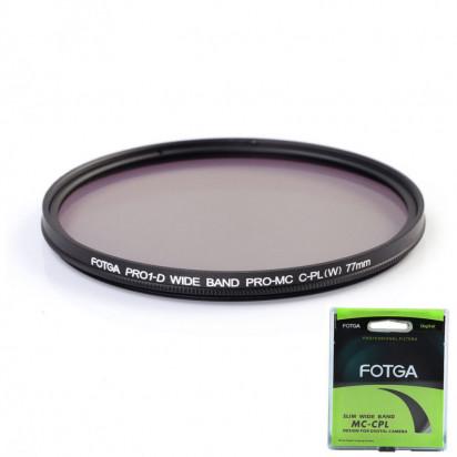 Фильтр Fotga PRO1-D Ultraslim MC CPL 52mm