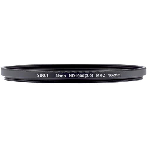 Фильтр Sirui 62mm Nano MC ND 3.0 Filter (10-Stop)