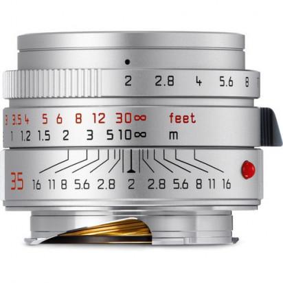 Объектив Leica Summicron-M 35mm f/2 ASPH (Silver)