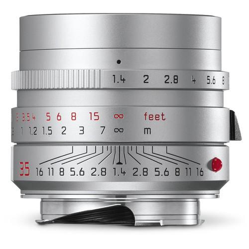 Объектив Leica Summilux-M 35mm f/1.4 ASPH. (Silver)
