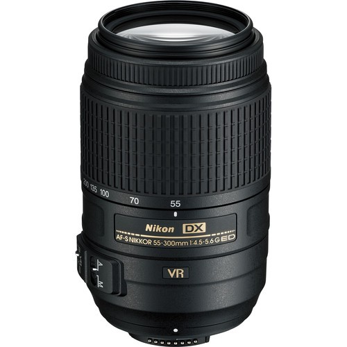Объектив Nikon AF-S DX NIKKOR 55-300mm f/4.5-5.6G ED VR
