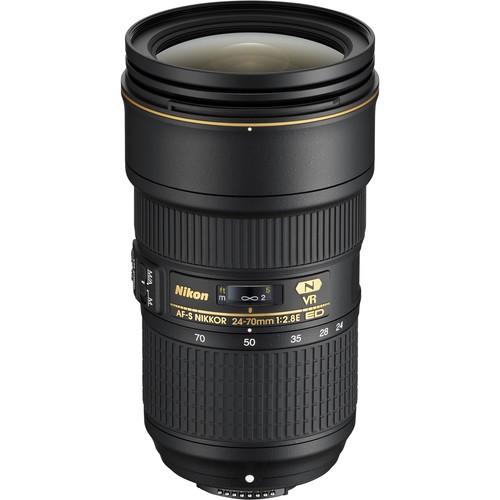 Объектив Nikon AF-S NIKKOR 24-70mm f/2.8E ED VR