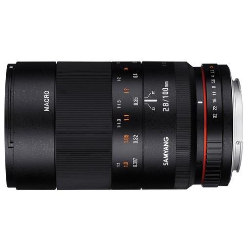 Объектив Samyang 100mm f/2.8 ED UMC Macro Canon EF