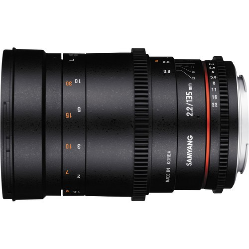 Объектив Samyang 135mm f/2.2 VDSLR ED UMC Canon EF