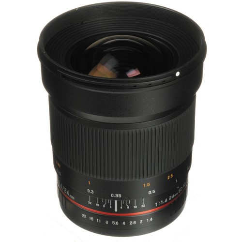 Объектив Samyang 24mm f/1.4 ED AS UMC Canon EF супер цена!!!