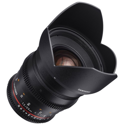 Объектив Samyang 24mm T1.5 ED AS UMC VDSLR II Canon EF