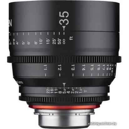 Объектив Samyang Xeen 35mm T1.5 Canon EF