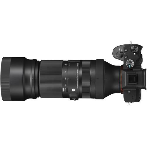 Объектив Sigma 100-400mm f/5-6.3 DG DN OS  Contemporary для Sony E