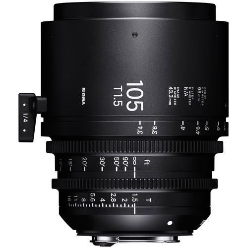 Объектив Sigma 105mm T1.5 FF EF Mount High-Speed Prime (Meters)