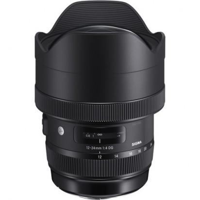 Объектив Sigma 12-24mm f/4 DG HSM Art для Nikon витрина