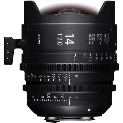 Объектив Sigma 14mm T2 FF High-Speed Prime (Canon EF Mount, Meters)
