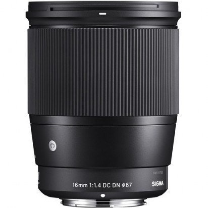 Объектив Sigma 16mm f/1.4 DC DN Contemporary для MFT
