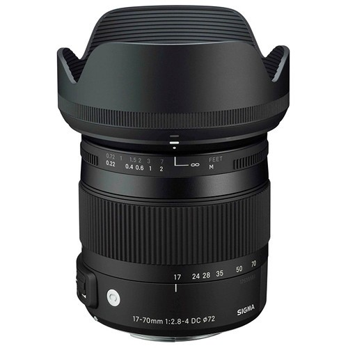 Объектив Sigma 17-70mm f/2.8-4 DC Macro OS HSM для Canon